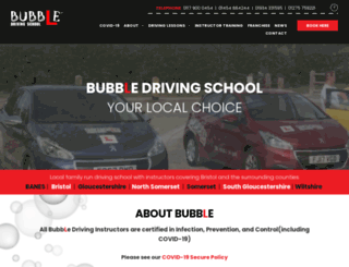 bubbledrivingschool.co.uk screenshot