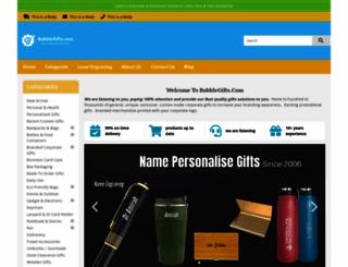 bubblegifts.com screenshot