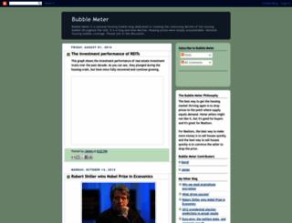 bubblemeter.blogspot.com screenshot
