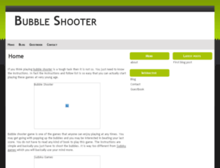 bubbleshooter.doomby.com screenshot