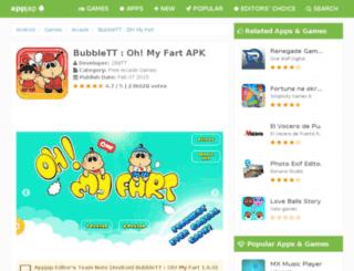 bubblett-oh-my-fart.appjap.com screenshot