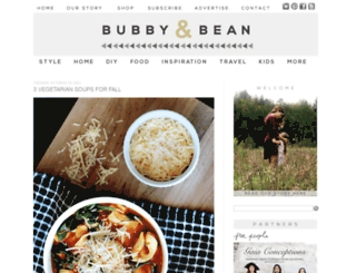 bubbyandbean.com screenshot