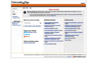 bubela.uvigo.es screenshot