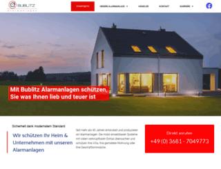 bublitz-alarm.de screenshot