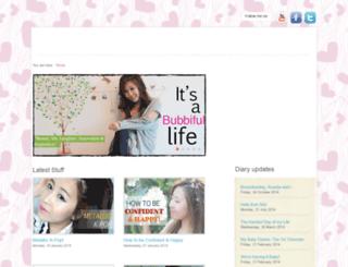 bubzbeauty.com screenshot