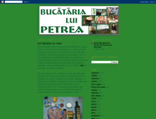 bucatariepetrea.blogspot.com screenshot