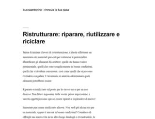 buccaantonino.it screenshot