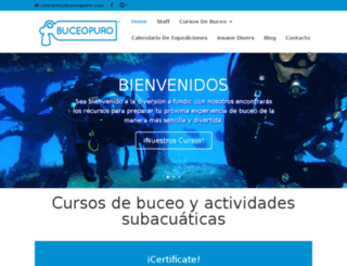 buceopuro.com screenshot