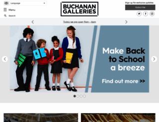 buchanangalleries.co.uk screenshot