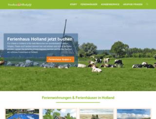 buchen-holland.de screenshot