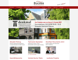 bucherplatte.com screenshot
