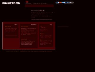 buchete.md screenshot