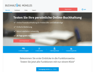 buchhaltung-muehelos.de screenshot