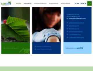 buchheim-gebaeudereinigung.de screenshot