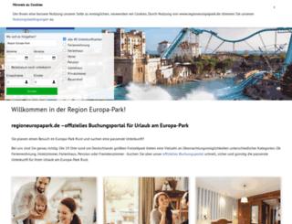 buchung.regioneuropapark.de screenshot