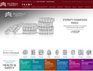 buchwaldjewelers.com screenshot