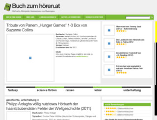 buchzumhoeren.at screenshot