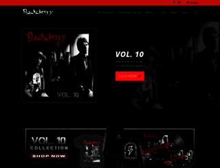 buckcherry.com screenshot