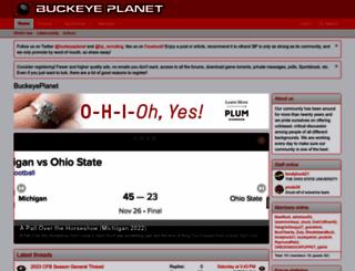buckeyeplanet.com screenshot