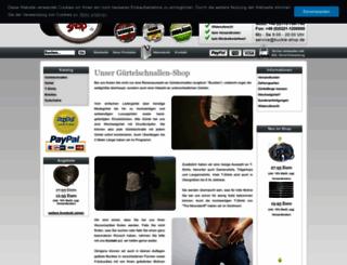 buckle-shop.de screenshot