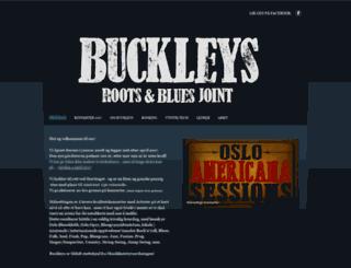 buckleys.no screenshot