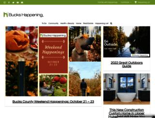 bucks.happeningmag.com screenshot