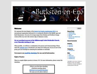 buckston.atlantia.sca.org screenshot