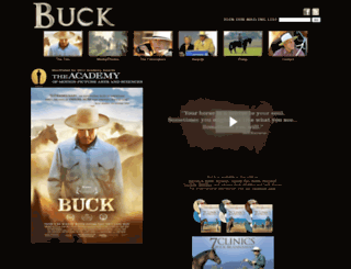buckthefilm.com screenshot