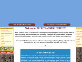 bucktrackersoutpost.com screenshot