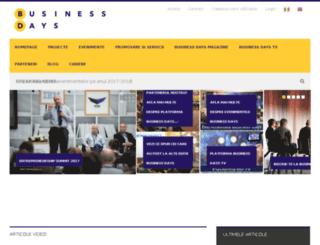 bucuresti2013.businessdays.ro screenshot