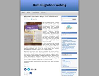 bud1nugroho.wordpress.com screenshot