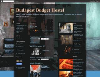 budapestbudgethostel.blogspot.com screenshot