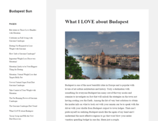 budapestsun.com screenshot