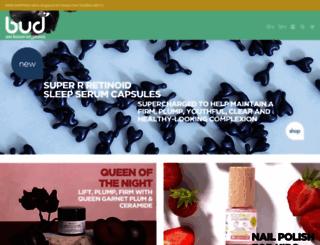 budcosmetics.com screenshot