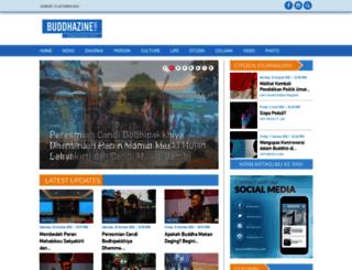 buddhazine.com screenshot