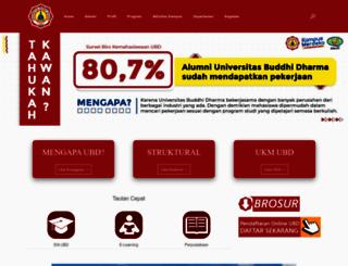 buddhidharma.ac.id screenshot