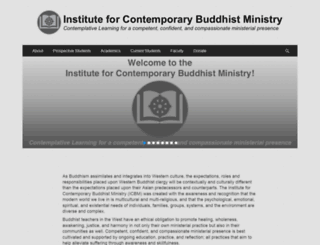 buddhistministry.org screenshot