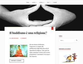 buddismoeoccidente.wordpress.com screenshot