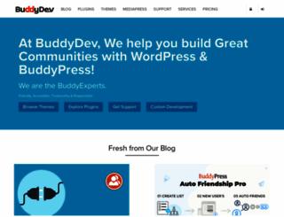 buddydev.com screenshot