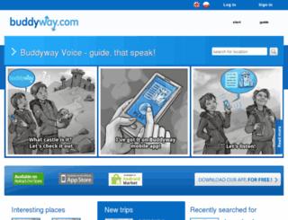 buddyway.com screenshot