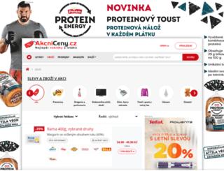 budejovicky-budvar.akcniceny.cz screenshot