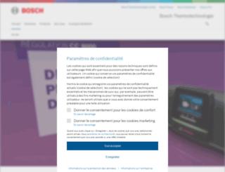 buderus.fr screenshot