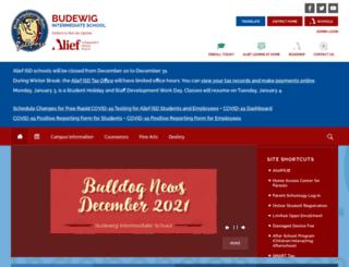 budewig.aliefisd.net screenshot