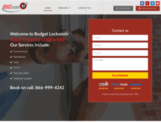 budget-locksmith.com screenshot