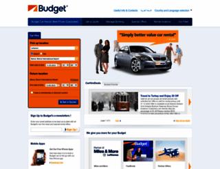 budget.com.lb screenshot