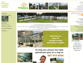 budgetgreenhouses.ie screenshot