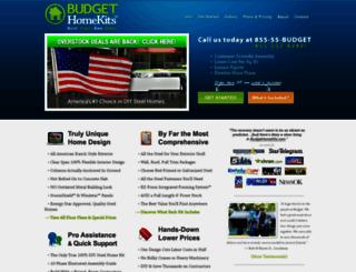 budgethomekits.com screenshot