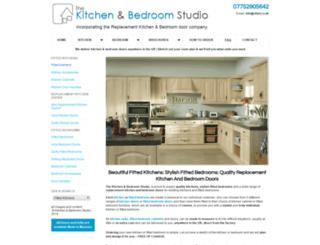 budgetkitchendoors.co.uk screenshot