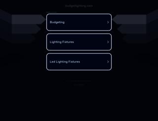 budgetlighting.com screenshot