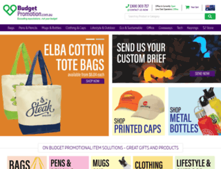 budgetpromotion.com.au screenshot